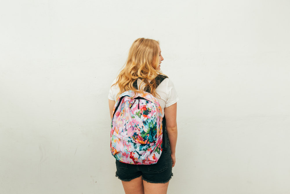 Taylor Lee Paints :: Original Design Las Paletas Mameys Backpack