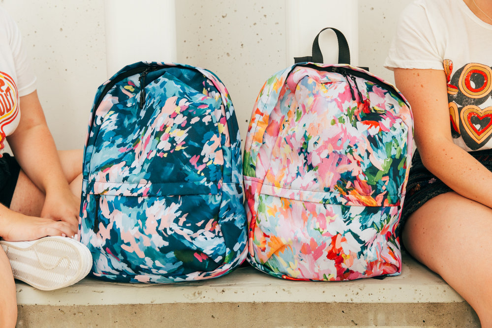 Taylor Lee Paints :: Original design backpacks