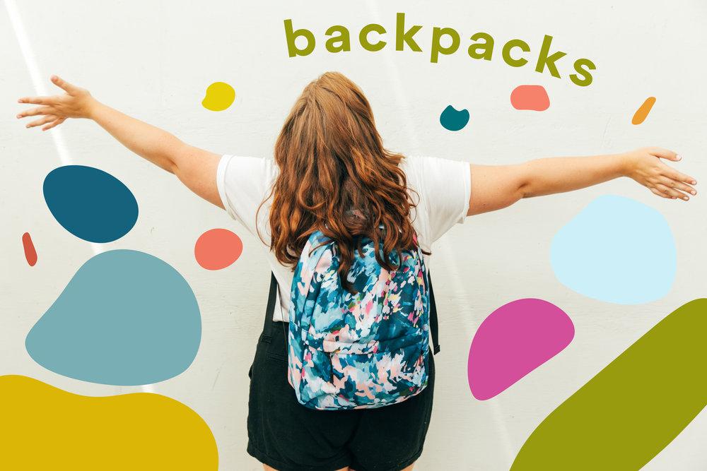 Taylor Lee Paints Backpacks