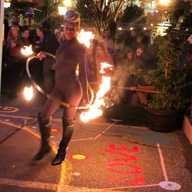 h o l i d a y . #winterfestwg #fire #makersmarket #beergarden #treelot