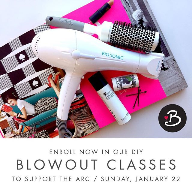 Who wants to learn tips and tricks for a perfect DIY blowout? The team @blowdryblowdry and @haussalon are hosting 3 Blowout Classes on Sunday, January 22nd. Cost is $100 with ah-mazing take-home gifts plus mimosas, wine and snacks. Bring your own blowdryer and your favorite products or use ours and enjoy 20% off during the class. Sign up by calling Blowdry in Uptown at 612-824-4878. Proceeds benefit our partnership with @arcrelief to help victims of domestic violence. More details on our website. Join us!