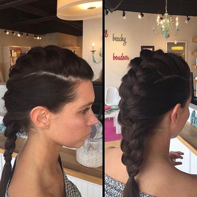 Beautiful braid by Kathleen at Blowdry 😍  #blowdrybeauties