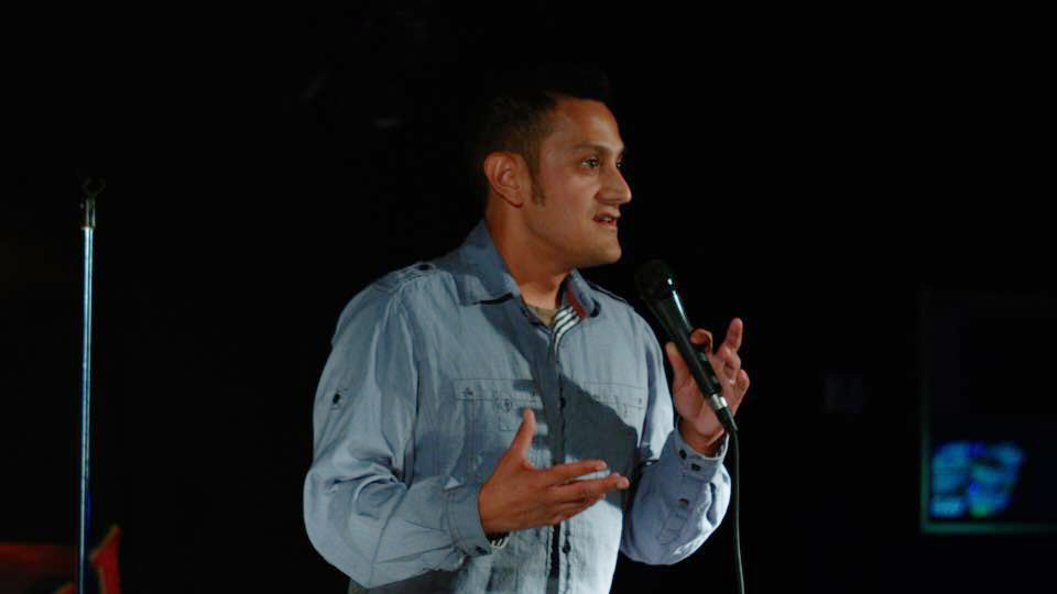 Comedian Chris Adams
