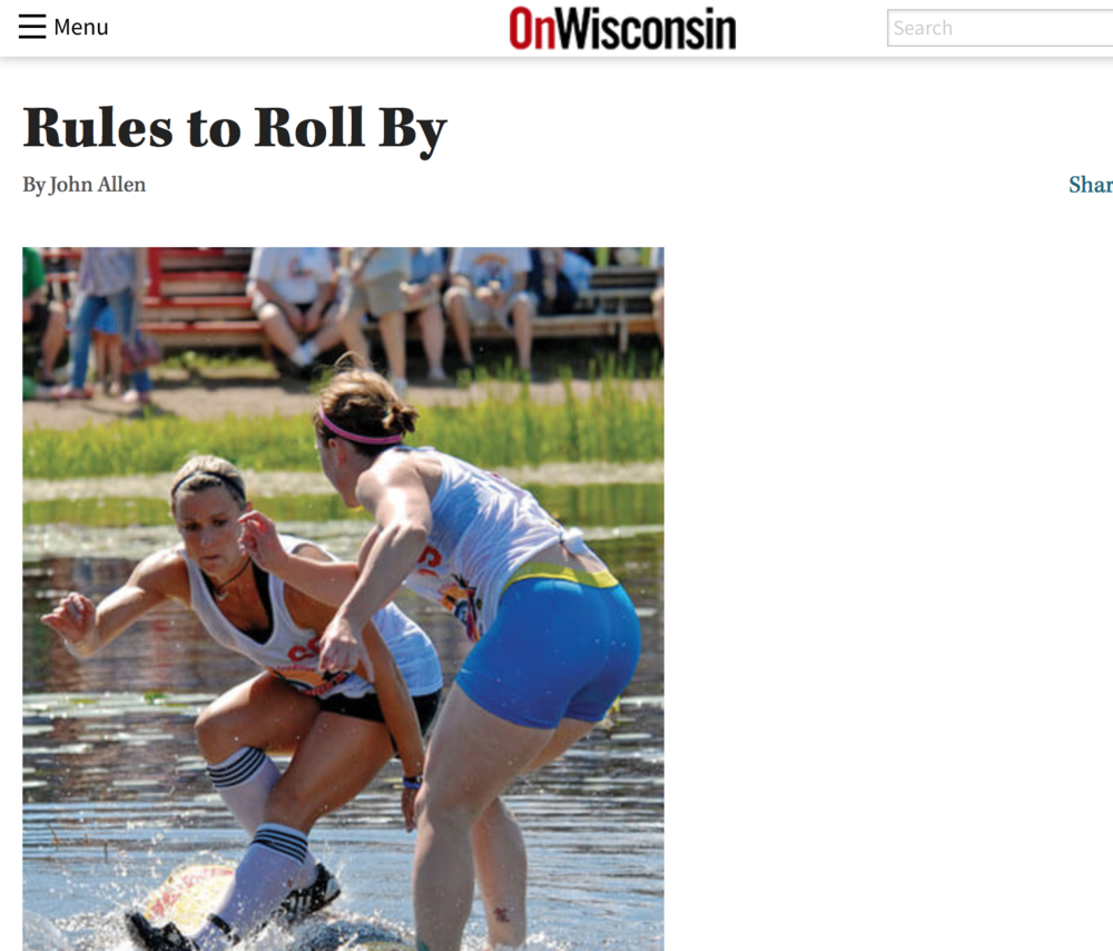 On Wisconsin Magazine: Rules to Roll By 2011