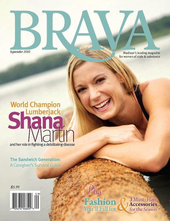 Brava Magazine Cover Story: 2010