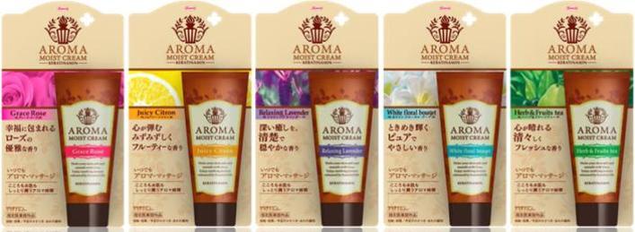 kowa-keratinamin-aroma-moist-cream