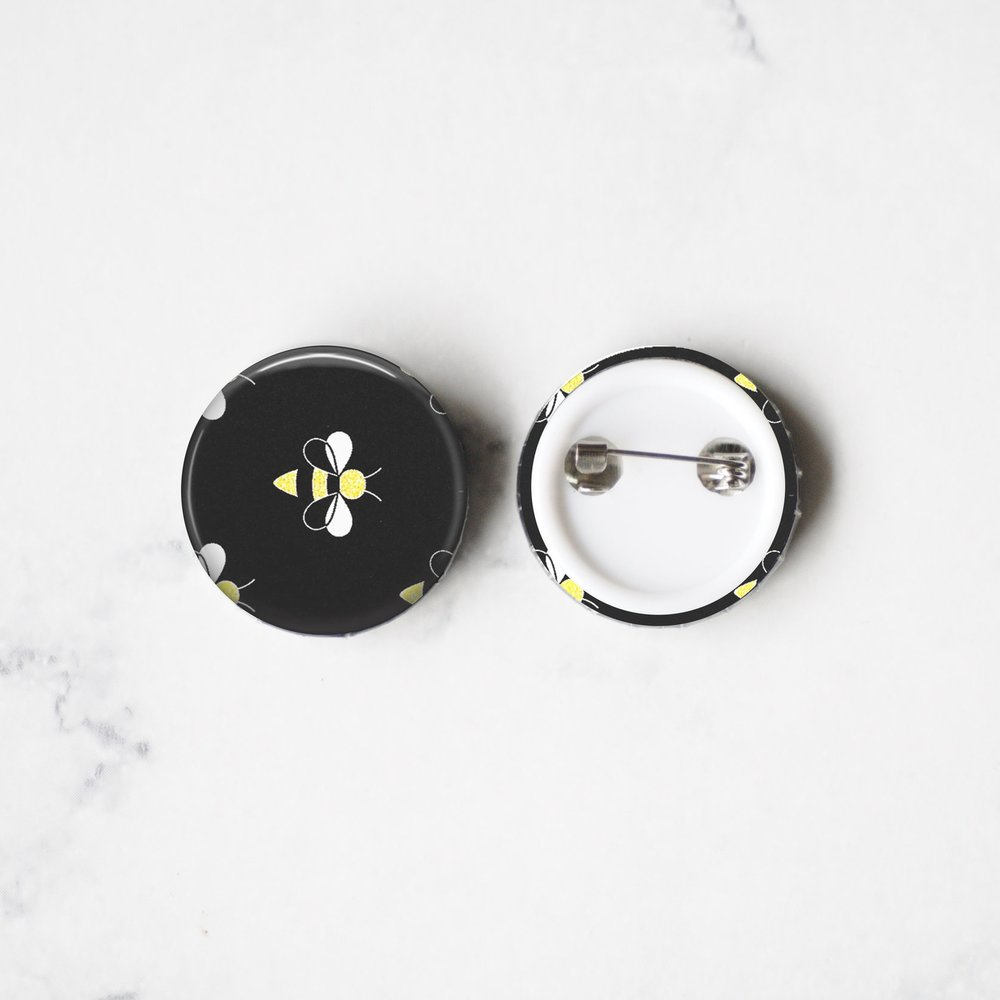 Pin Back Buttons -