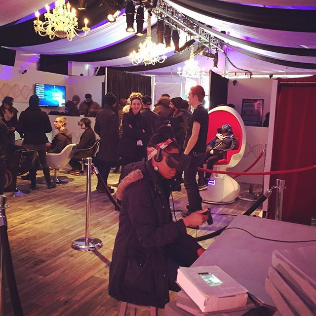 candy store, also known as the vr palace. #sundancefilmfestival #newfrontier #sundance