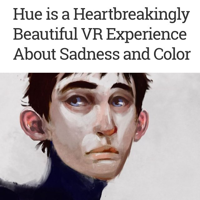 Much gratitude to Joe Durbin and @uploadvr  for such a thoughtful and beautifully written piece on Hue. ❤