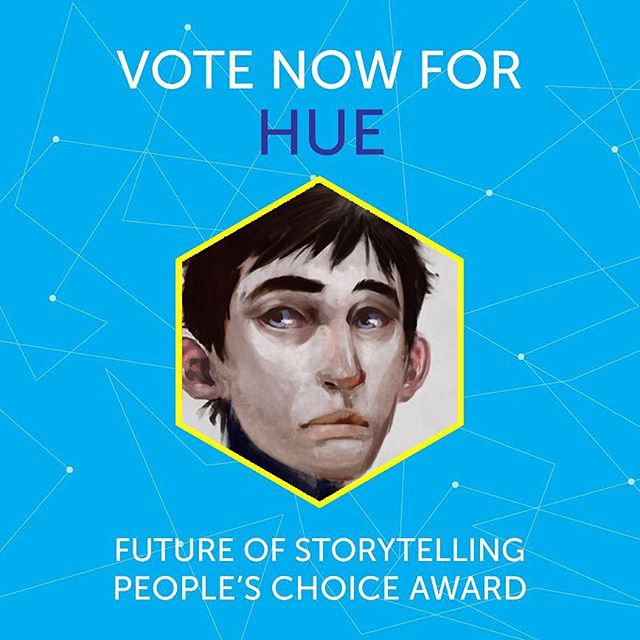 super wow! hue's been nominated for the Future of StoryTelling's Prize for the best in innovative storytelling. Vote for him at fost.org/prize #FoST2017. ❤️! #fostprize