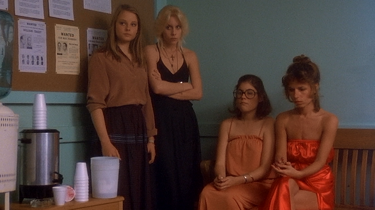 Foxes, Randy Quaid, Lois Smith, Scott Baio, Sally Kellerman, Cherie Currie, Adrian Lyne, Jodie Foster