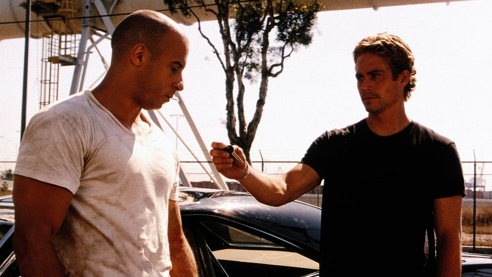 The Fast and the Furious, Vin Diesel, Paul Walker, Michelle Rodriguez, Jordana Brewster