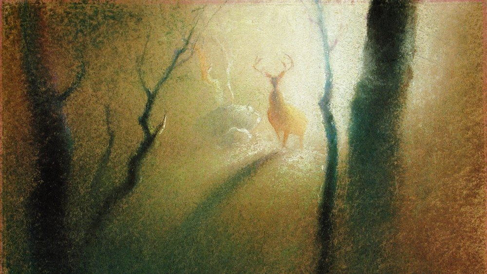 Concept art by Tyrus Wong.