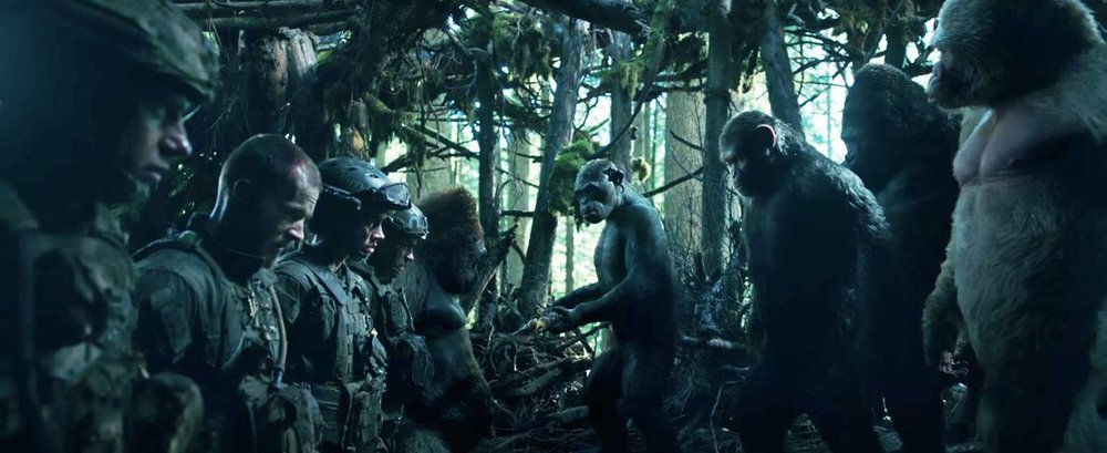 war for the planet of the apes, planet of the apes, dawn of the planet of the apes, planet of the apes 3, planet of the apes series, planet of the apes movies, planet of the apes 1968, planet of apes, the planet of the apes, planet of the apes trilogy, planet apes, new planet of the apes, planet of the apes 2, apes movie, war of planet of the apes, matt reeves, woody harrelson, caesar andy serkis, caesar ape, andy serkis, motion capture, war of the planet of the apes review, review war of the planet of the apes, new planet of the apes movie,