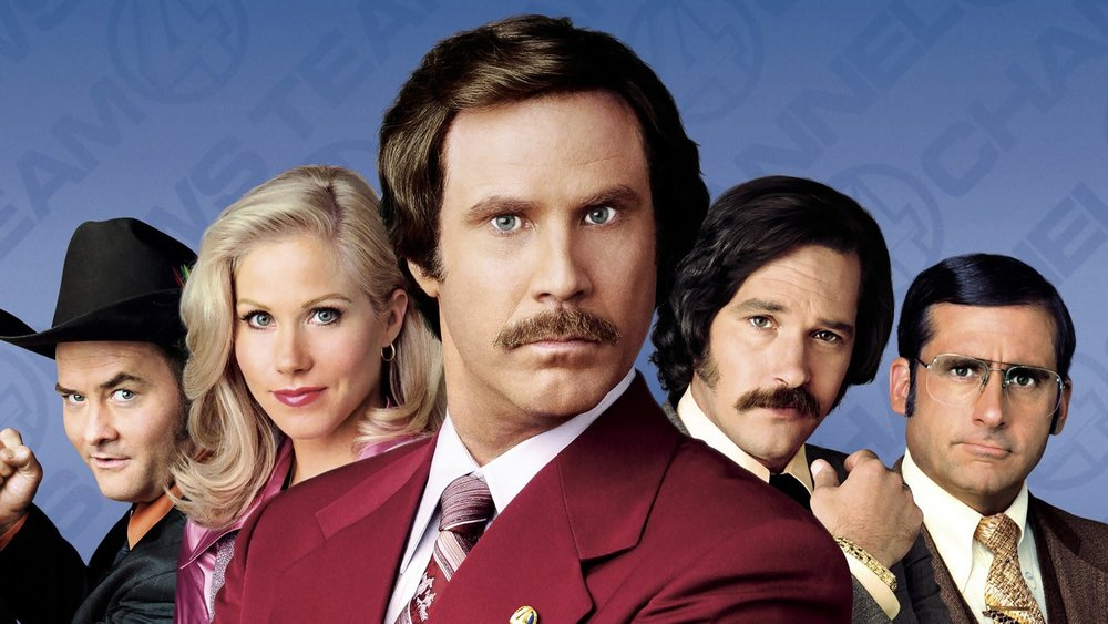 Image result for anchorman legend of ron burgundy
