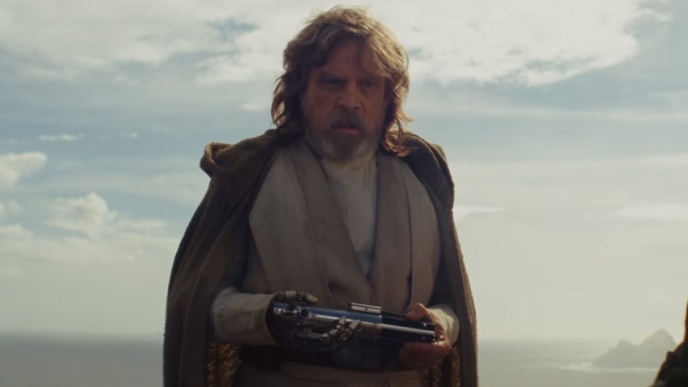 The return of Luke Skywalker (Mark Hamill) is highly anticipated in  The Last Jedi .