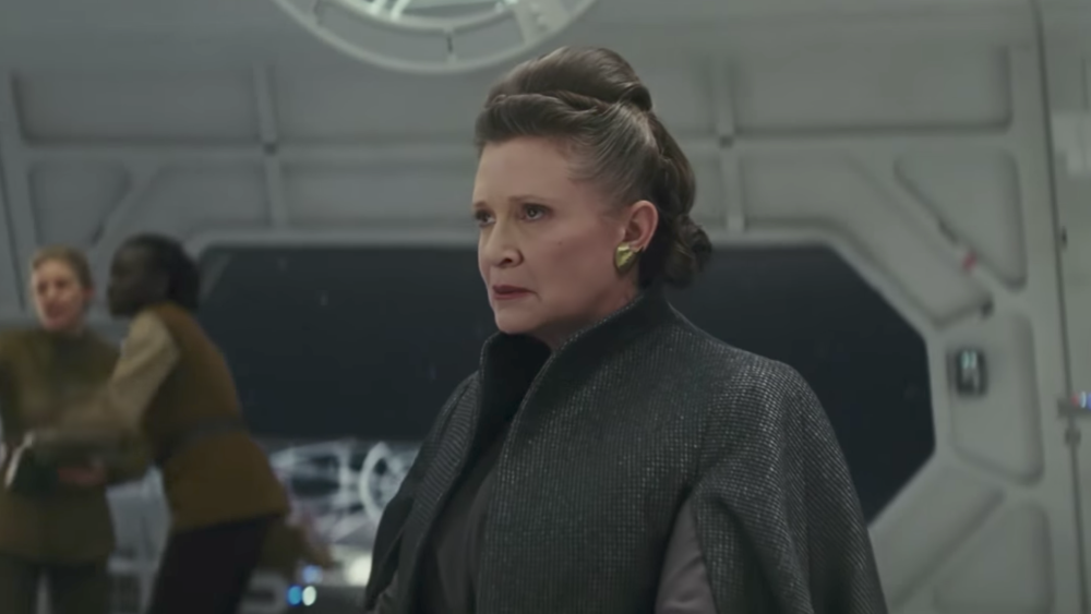 The final appearance of Leia (Carrie Fisher) in a  Star Wars  film makes this a bittersweet entry.