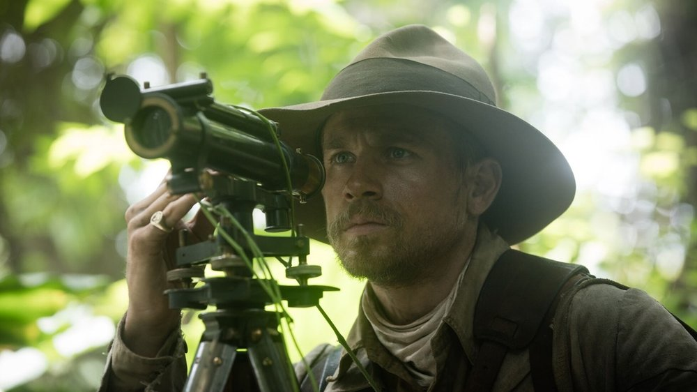 The Lost City of Z, The Lost City of Z movie,James Gray,Sienna Miller, Tom Holland, Amazon, Charlie Hunnam,Robert Pattinson,