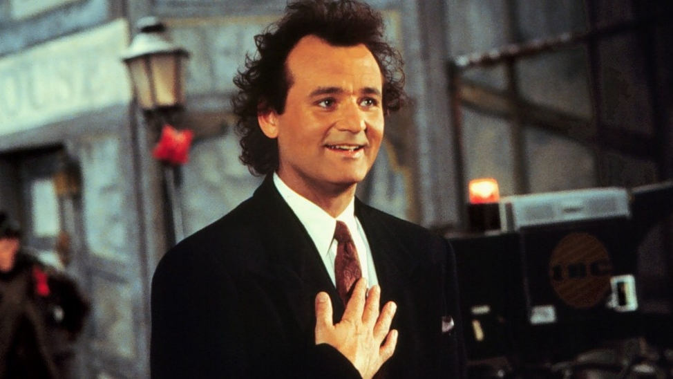 bill murray, scrooged, scrooged movie, richard donner, christmas,