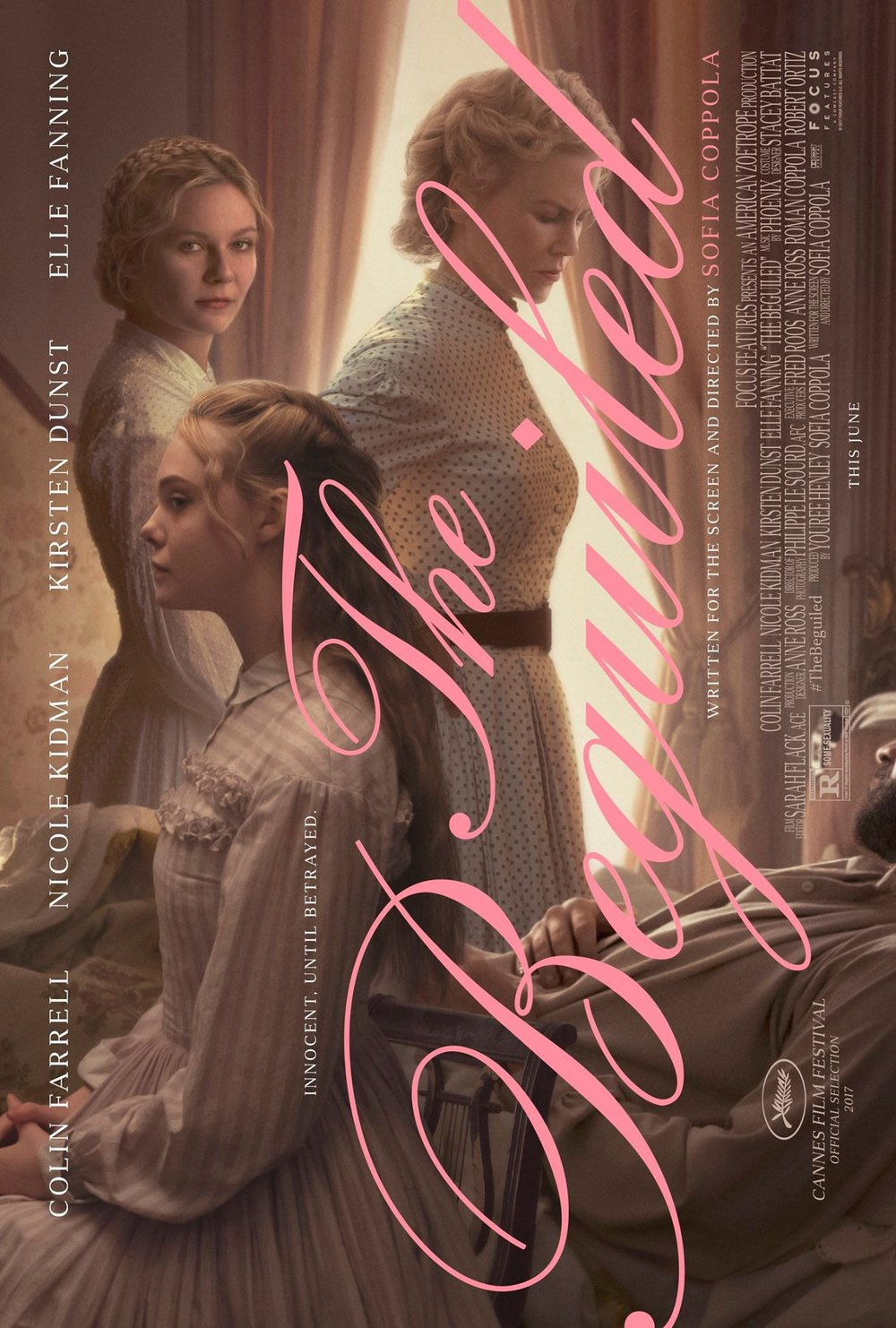 the beguiled, the beguiled movie, kirsten dunst, sofia coppola, nicole kidman, colin farrel, elle fanning,