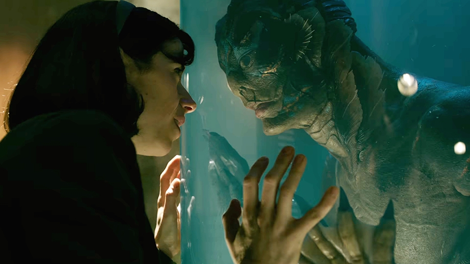 the shape of water, the shape of water movie, sally hawkins, doug jones, doug jones actor, guillermo del toro,