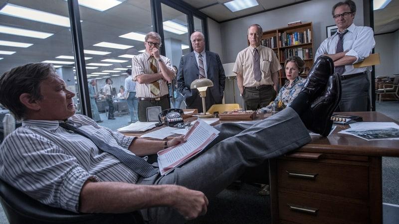Tom Hanks as Ben Bradlee in Steven Spielberg's The Post