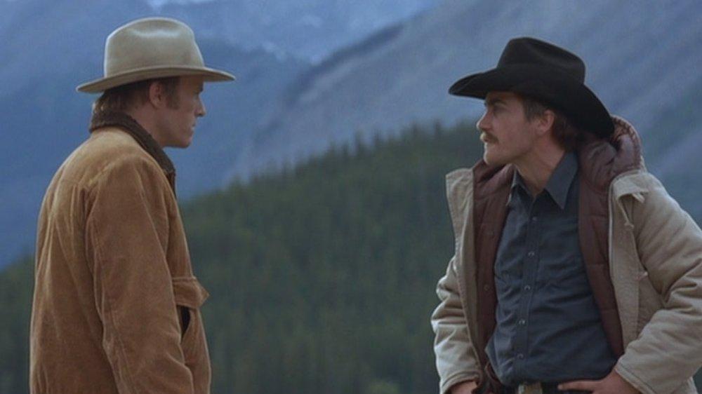 Heath Ledger and Jake Gyllenhaal in Ang Lee's Brokeback Mountain
