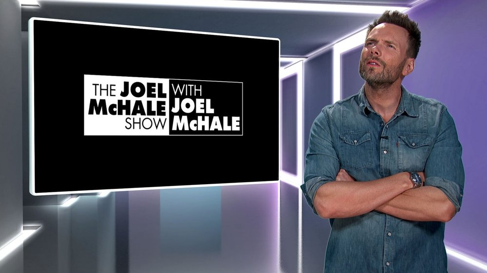Joel McHale as Joel Mchale in The Joel McHale Show with Joel McHale
