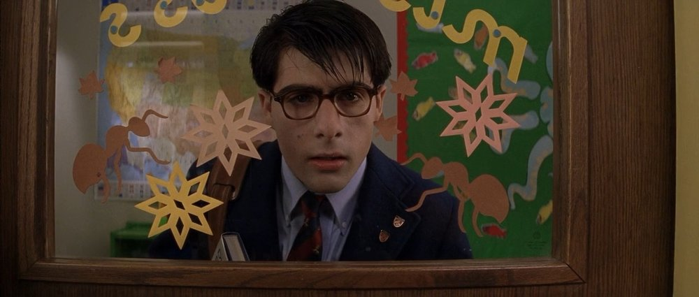 Jason Schwartzman as Max Fischer in Wes Anderson's Rushmore
