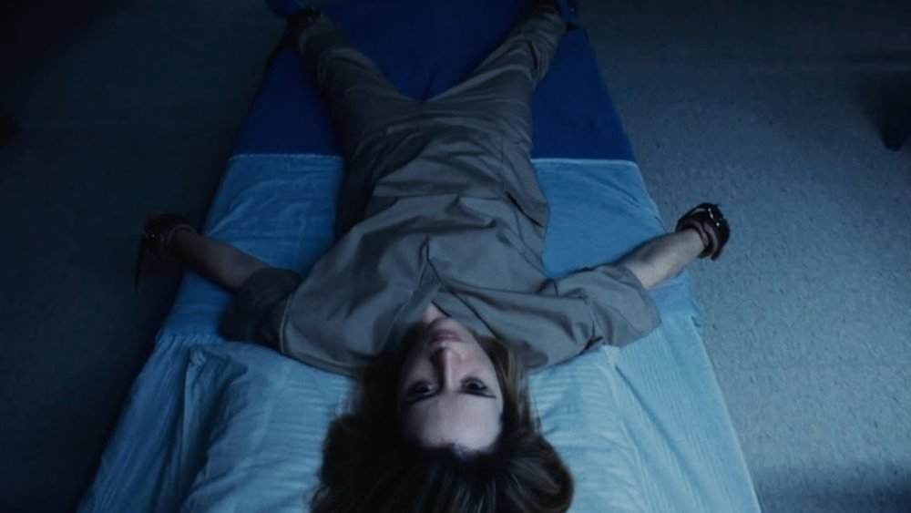 Claire Foy is all tied up in Soderbergh's latest, Unsane.