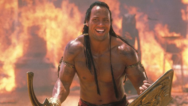 "Dwayne ""The Rock"" Johnson in The Mummy Returns"