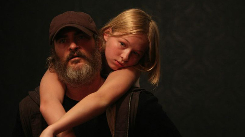 you were never really here, joaquin phoenix beard, joaquin phoenix movie, lynne ramsay movies, you were never really here online