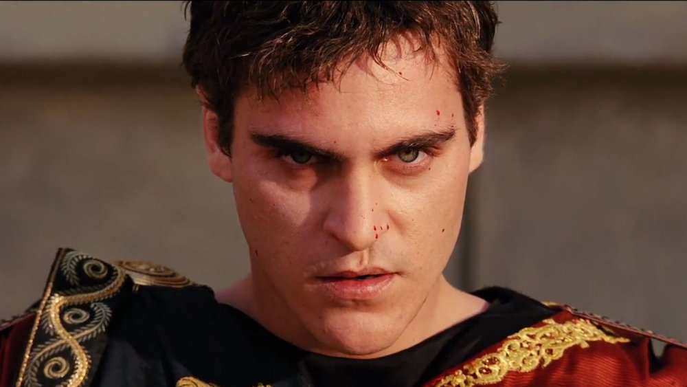 gladiator joaquin phoenix performance