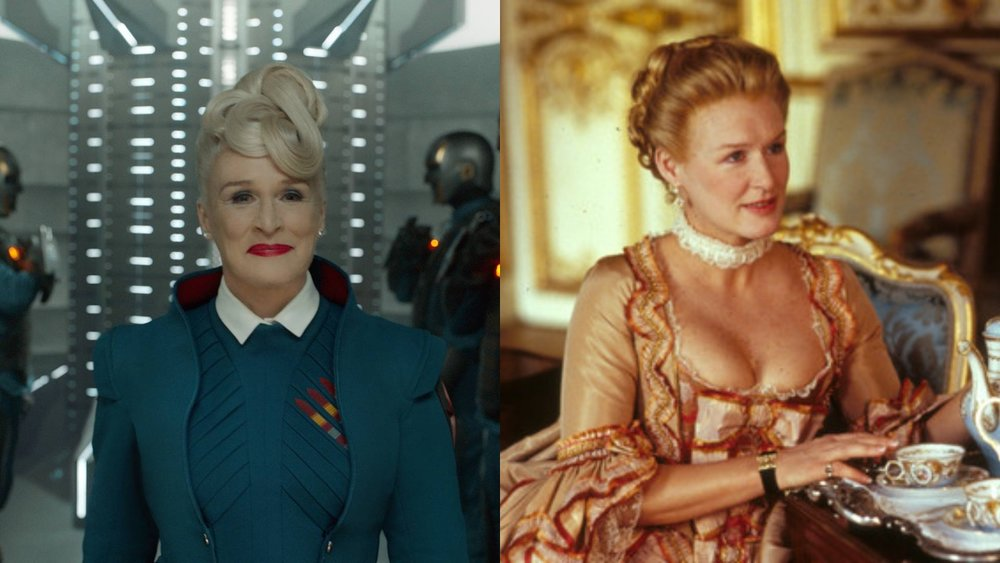 glenn close, guardians of the galaxy, marvel cinematic universe,