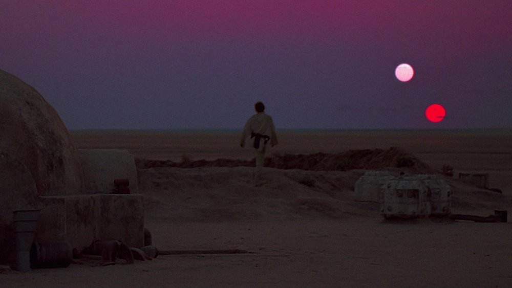 A still from Star Wars (1977)