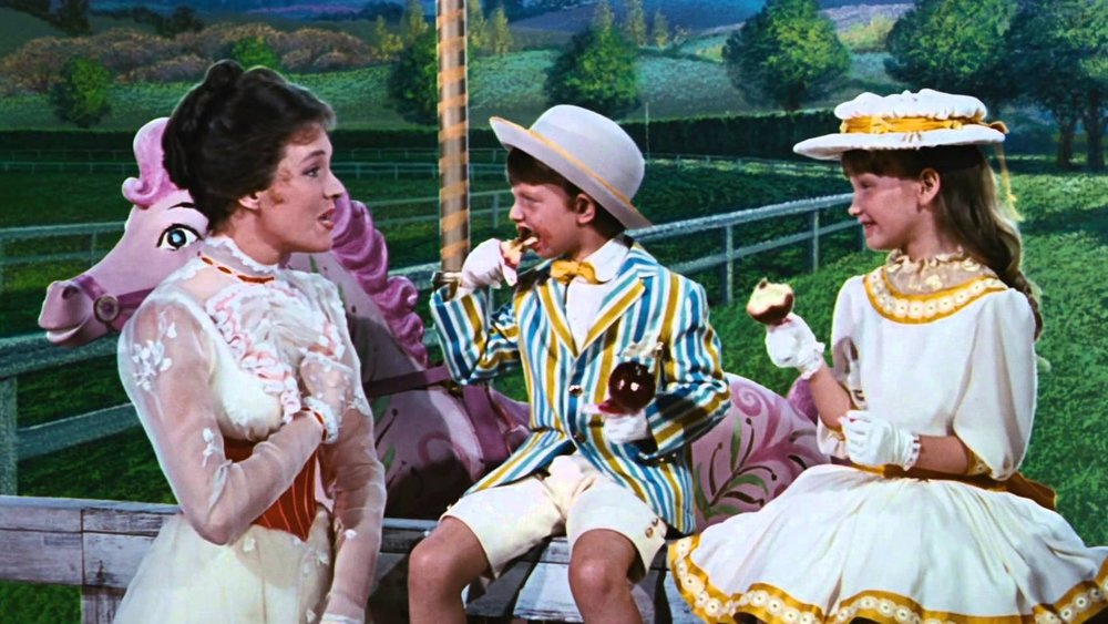 A still from Mary Poppins (1964)