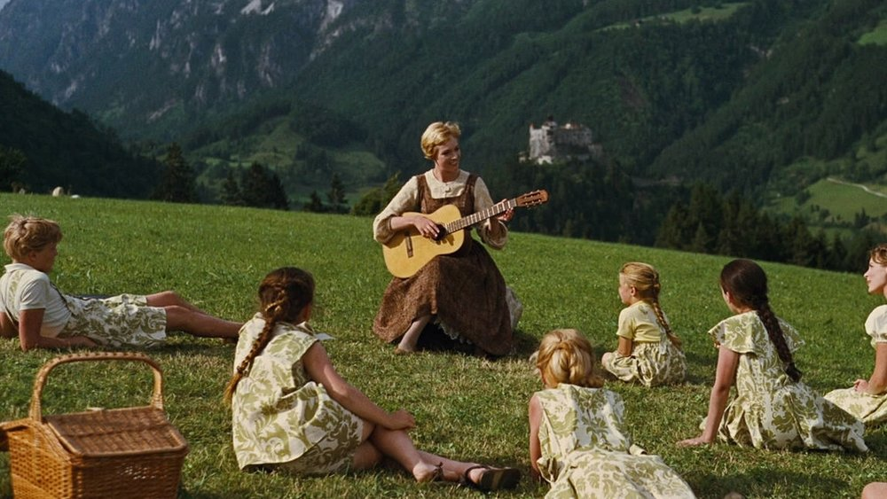 A still from The Sound of Music (1965)