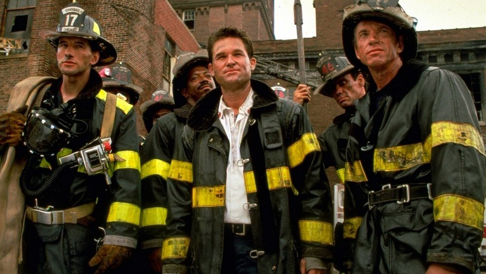 Kurt Russell in Backdraft