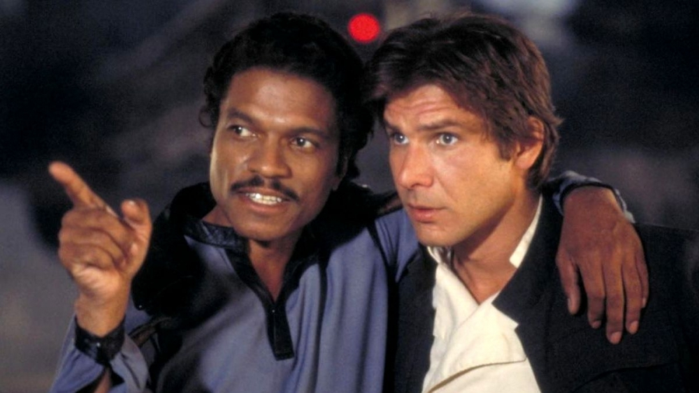 harrison ford, billy dee williams, the empire strikes back,