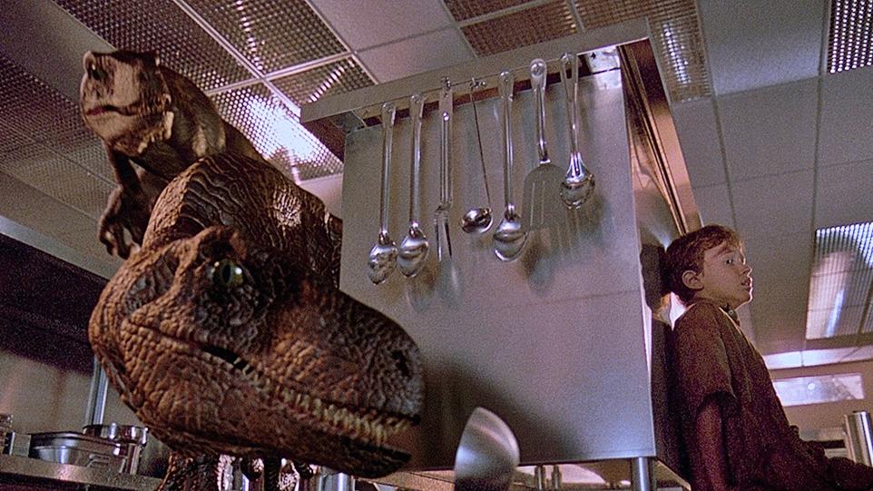 Tim Raptor Kitchen Jurassic Park