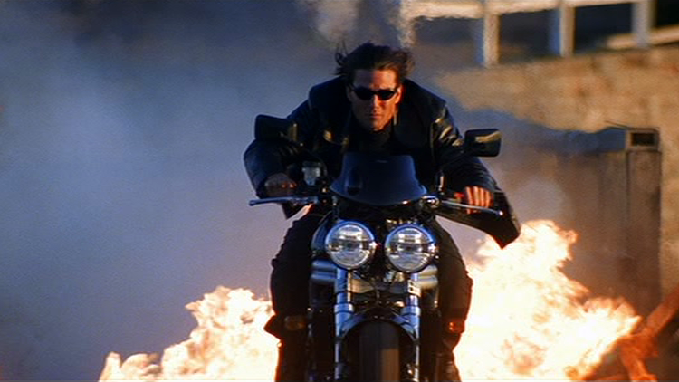 Thats Not Impossible The Motorcycle Fight In Mission Impossible