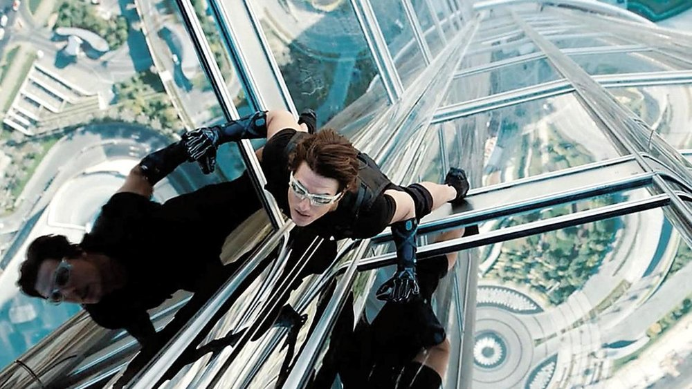 Thats Not Impossible The Burj Khalifa In Mission Impossible