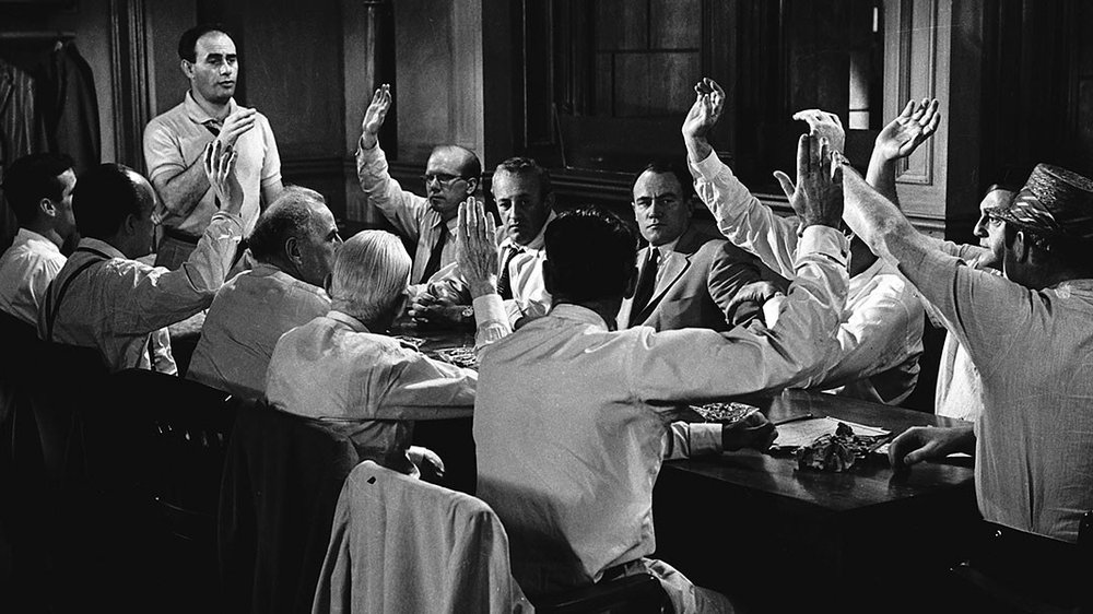 12 angry men, sidney lumet, henry fonda, ed begley, martin balsam, jack warden,