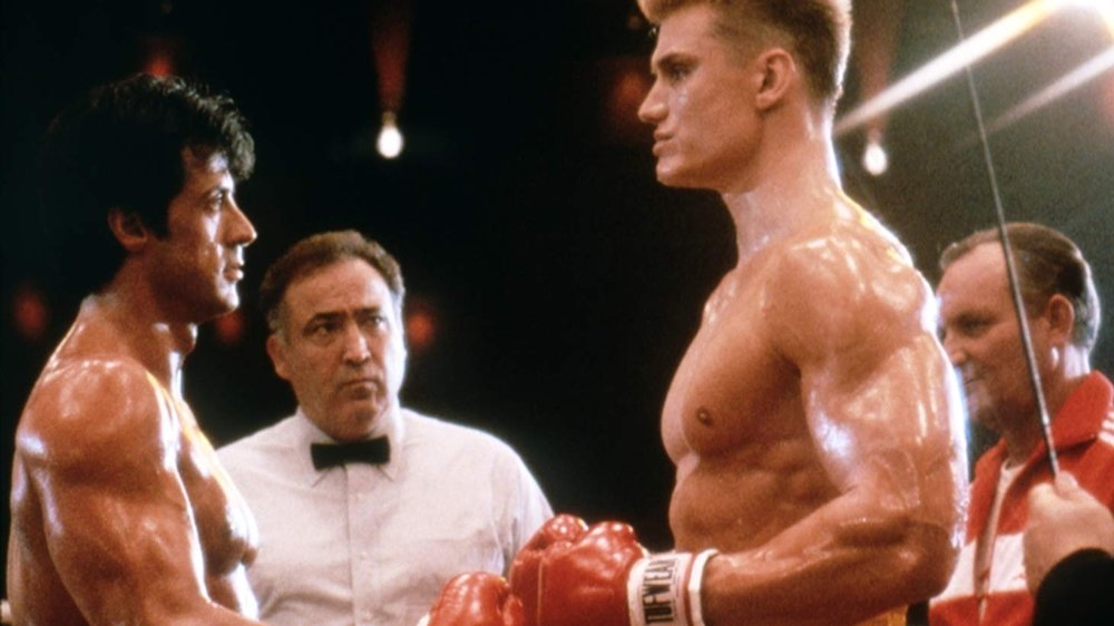 Rocky, Rocky IV, Sylvester Stallone, Dolph Lundgren, Carl Weathers, Talia Shire,