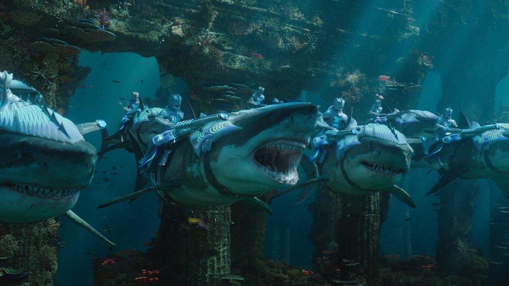 Aquaman Sharks
