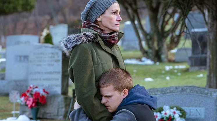 Julia Roberts, Lucas Hedges, Ben Is Back, Peter Hedges, Kathryn Newton, Courtney B Vance,