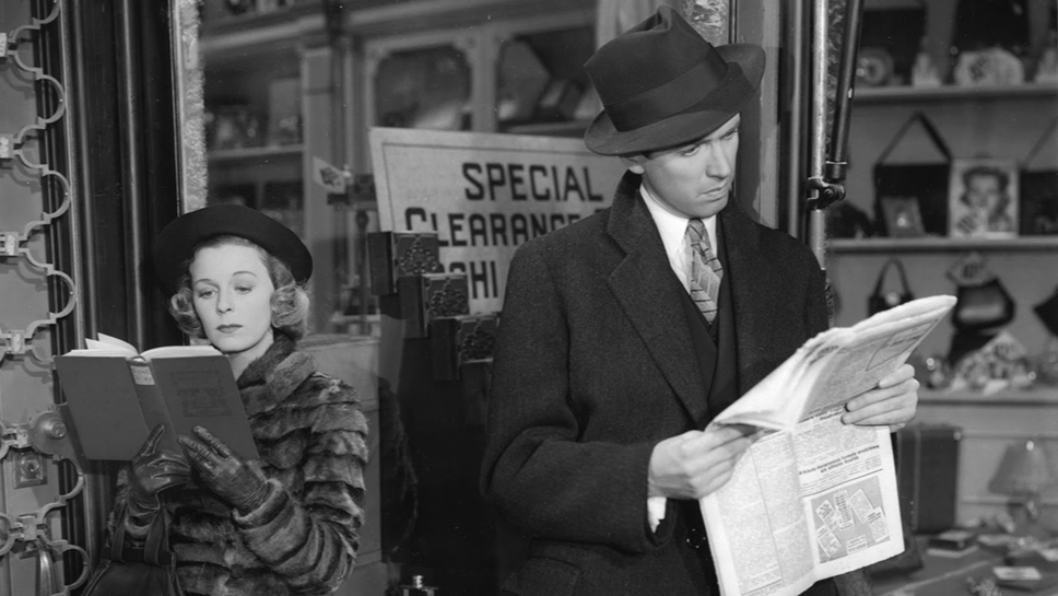 The Shop Around the Corner, James Stewart, Jimmy Stewart, Ernst Lubitsch, Margaret Sullivan,