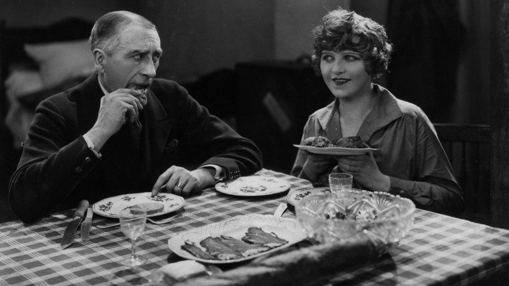 Alfred Hitchcock, Champagne, Jean Bradin, Ferdinand von Allen, Gordon Harker, Betty Balfour,