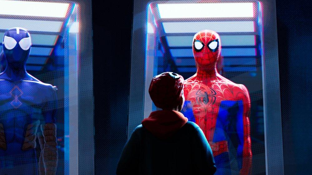 Spider-Man Into the Spider-Verse, Miles Morales, Shameik Moore, Jake Johnson,
