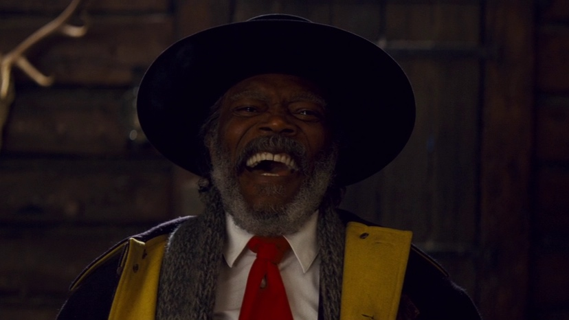Samuel L Jackson, Quentin Tarantino, The Hateful Eight, Kurt Russell, Jennifer Jason Leigh, Bruce Dern,